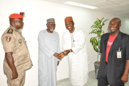 NESO'S CORPS COMMANDANT GENERAL ON A WORKING VISIT TO DG, DSS
