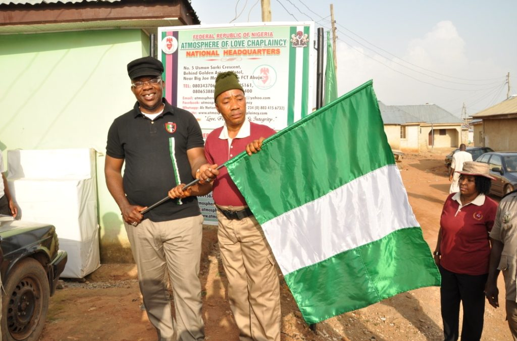 CCG, NESO PAID COURTESY VISIT TO CG, ATMOSPHERE OF LOVE CHAPLAINCY