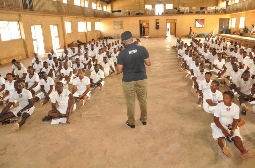 NESO PERSONNEL TRAINING AND PASSING OUT PARADE AT AWKUZO, ANAMBRA STATE