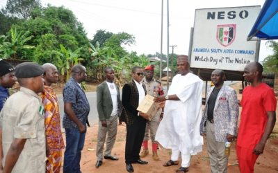 Working Visit to Anambra South NESO Area Command
