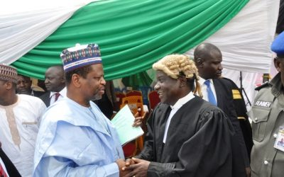 NESO at Plateau Chief Judge Valedictory Ceremony in Jos