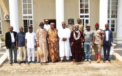 Courtesy Visits To Some Traditional Rulers In Bayelsa State